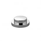 Сливной гарнитур с кнопкой тяги Dornbracht 10200970 Белый и Черный