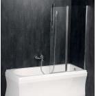 Поворотная шторка для ванны с фиксированной частью Polysan Palomba BS-90