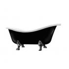 Ванна отдельностоящая Galassia Meg11 8497 (черный глянцевый)