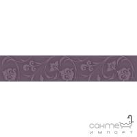Плитка Kwadro Ceramika Legato Viola Listwa 4,8 x 25