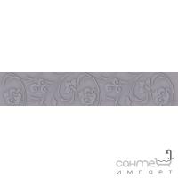 Плитка Kwadro Ceramika Legato Grafit Listwa 4,8 x 25