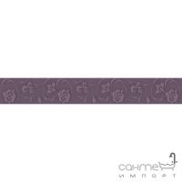 Плитка Kwadro Ceramika Legato Viola Listwa 4,8 x 33,3