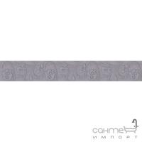 Плитка Kwadro Ceramika Legato Grafit Listwa 4,8 x 33,3
