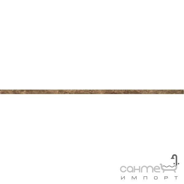 abk Плитка керамическая бордюр ABK Fossil LISTELLO FOGLIA BRONZO FSR51160