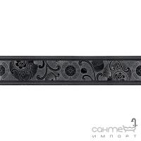 Плитка керамическая бордюр Acif ICONS FASCIA GISELLE REGLISSE F934B9A