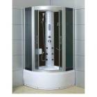 Гидромассажный бокс (гидробокс) YVM-30 профиль сатин, серое стекло