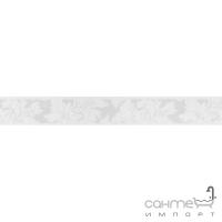 Плитка керамическая фриз Domino ILUSTRE BARRA ROSEMARY 1 BRANCO