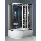 Гидромассажный бокс (гидробокс) YVM-176 R правосторонний, профиль сатин, серое стекло