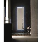 Многофункциональная, душевая панель, настенный монтаж Acquapura Fantini 74 AA 650102 Перламутровый-Хром
