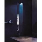 Многофункциональная, душевая панель, встраиваемый монтаж Acquazzurra Fantini 77 02 6600 Хром