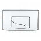 Кнопка Siamp белая DM2300