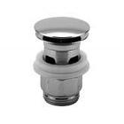 Донный клапан pop-up 1''1/4 с переливом Fantini 91 02 9158 Хром