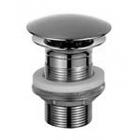 Донный клапан pop-up 1''1/4, нажимной, удлиненный 4 см, без перелива Fantini 91 02 9606 Хром