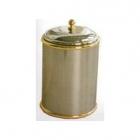 Урна для мусора Glionna Bagno CLEN/224 бронза/золото