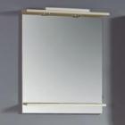 Зеркало с подсветкой о полочкой Imprese Vera (светлый ясень)