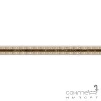 Плитка керамическая Интеркерама EMPERADOR бордюр узкий коричневый БУ 66 031