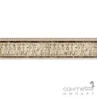 Плитка керамическая Интеркерама EMPERADOR бордюр коричневый БВ 66 031-2