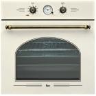 Мультифункциональный духовой шкаф Teka Rustica HR 650 41562114 Белый Крем, Ручки - Латунь