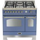 Газовая плита, 2 электрические духовки Lofra Dolcevita 90 Double Oven RLVD96MFTE/Ci LAVANDA/BRASS