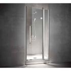 Душевая кабина (дверь + неподвижный сегмент) в угол Treesse Box doccia Blanque 90x90x194h (DX-правосторонняя)
