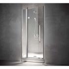 Душевая кабина (дверь + неподвижный сегмент) в угол Treesse Box doccia Blanque 100x100x194h (SX-левосторонняя)