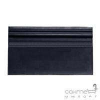 Плитка керамическая плинтус DEVON&DEVON LAMBRIS plinth (black) cglamplBl