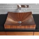 Деревянная раковина настольная Alegna Laguna Pure rectangular