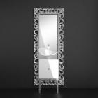 Комплект для ванной комнаты Glass Design Monnalisa Prestige FLOwer PRХ white lacquered/silver