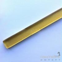 Стеклянный фриз Marsan 50x1,5 золотой