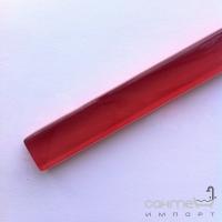 Стеклянный фриз Marsan 40x1,5 красный глянцевый