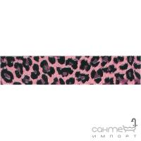 Плитка Kerama Marazzi Бордюр Ирбис розовый 25x5,4 ADB806000