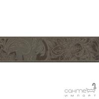 Фриз Береза керамика Богема ампир коричн  (25x6,5)