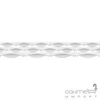 Фриз Береза керамика Антураж белый (35x5,4)