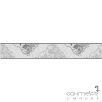 Фриз Береза керамика Прованс белый (9,5х60)