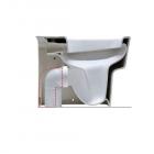 Колено для вертикального слива Simas Degrade CT01 белый