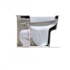 Колено для вертикального слива Simas Degrade CT02 белый