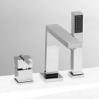 Врезной смеситель для ванны на 3 отверстия Vega Quadro Lux (91А1755625)
