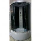 Гидромассажный бокс Atlantis AKL-50P 90x90x215 профиль сатин, стекло графит