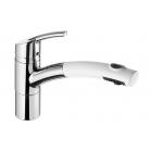 Кухонный смеситель с выдвижным душем SystemCeram Trento Star shower 1**19 Хром+Цвета