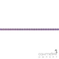 Плитка Kerama Marazzi Найтсбридж Бордюр Бисер фиолетовый POD013