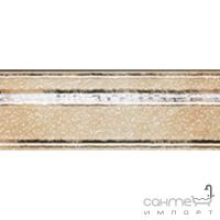 Плитка фриз Serra Seramik CADORO RAMAGE LISTELLO PEARL WHITE 10x30
