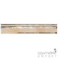 Плитка фриз Serra Seramik CADORO RAMAGE LISTELLO PEARL WHITE 5x30