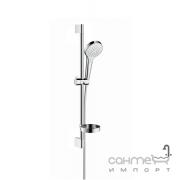 Душевой комплект Hansgrohe Croma Select S Vario Shower Set 0.65 m 26566400 белый/хром