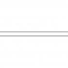 Плитка Kerama Marazzi Челси 130 Карандаш белый