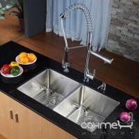 Кухонная мойка из нержавеющей стали Kraus KHU102-33
