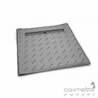Квадратная душевая плита с линейным трапом Radaway 5CL0909