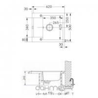 Кухонная мойка Franke Maris MRG 611-62 фрагранит