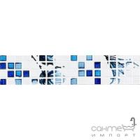 Плитка Mayolica Ceramica Olimpia Azul Cenefa (настенная) (под мозайку)