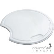 Разделочная доска к кухонной мойке Franke 112.0008.433 белый пластик
