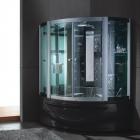 Гидромассажный бокс Golston G-U688 (чёрный, с ТВ)